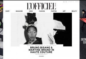 L'OFFICIEL Italia, Editorial by Martine Brand