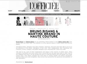 L'OFFICIEL Italia, Editorial by Martine Brand