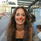 Martine Brand smiling in Paris
