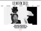 L'OFFICIEL Italia, Haute Couture by Bruno Bisang & Martine Brand