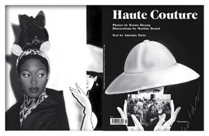 Haute Couture, cover Valentino, back cover Naomi Campbell