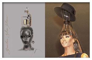 Guerlain perfume, design by Sylvia Toledano