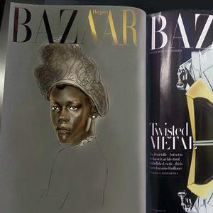 Harper's Bazaar by Martine Brand