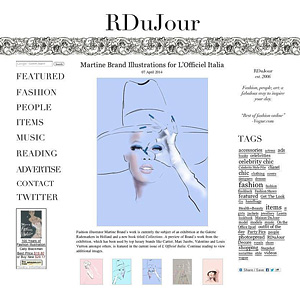 RDuJour, L'Officiel Italia by Martine Brand