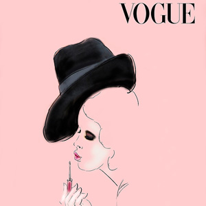 Vogue, illustration by Martine Brand